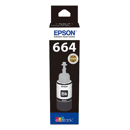 Cartouche imprimante Epson 664 Bouteille d'encre noire EcoTank C13T664140 - Autre vue