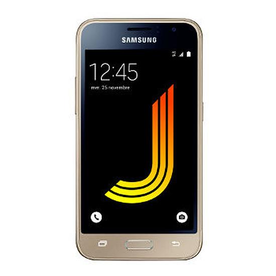 Smartphone et téléphone mobile Samsung Galaxy J1 2016 (or)