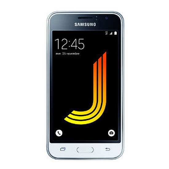 Smartphone et téléphone mobile Samsung Galaxy J1 2016 (blanc)