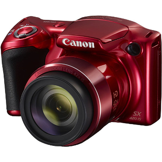 Appareil photo compact ou bridge Canon PowerShot SX420 Rouge