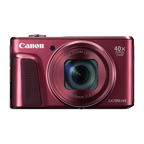 Appareil photo compact ou bridge Canon PowerShot SX720 HS Rouge