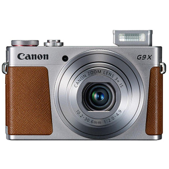 Appareil photo compact ou bridge Canon PowerShot G9X Silver