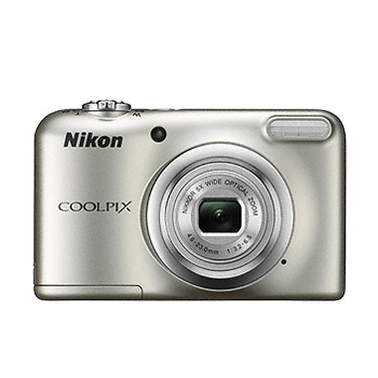 Appareil photo compact ou bridge Nikon Coolpix A10 Silver + Etui