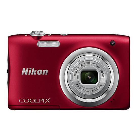 Appareil photo compact ou bridge Nikon Coolpix A100 Rouge