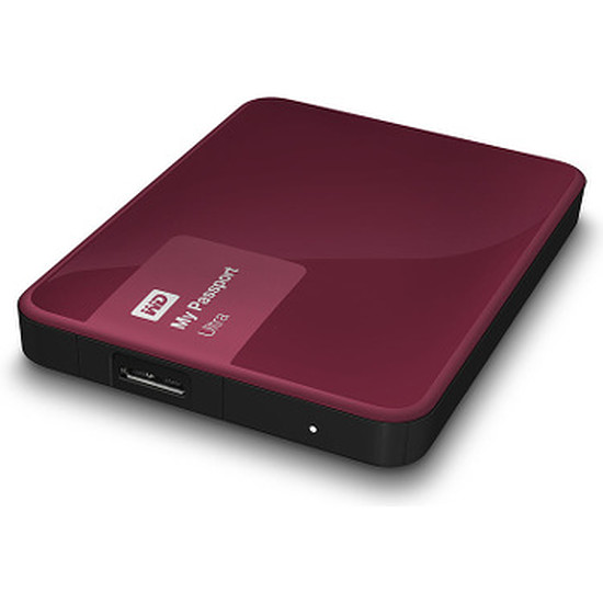 Disque dur externe Western Digital (WD) My Passport Ultra USB 3.0 - 3 To (Wild Berry)
