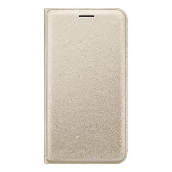Coque et housse Samsung Flip Wallet Cover (or) - Galaxy J1 2016