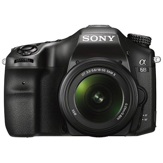 Appareil photo Reflex Sony Alpha 68 + 18-55 mm