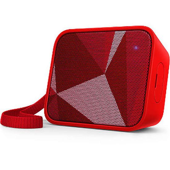 Enceinte Bluetooth Philips BT110 Rouge