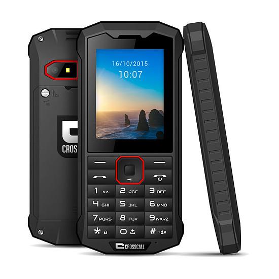 Smartphone et téléphone mobile Crosscall Spider X4 (noir)