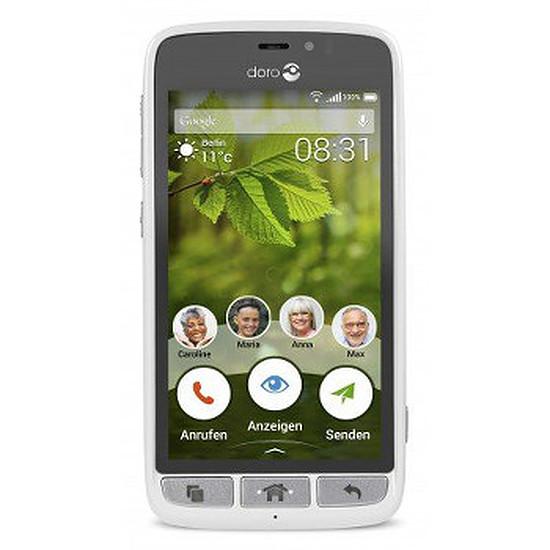 Smartphone et téléphone mobile Doro 8031 (blanc)