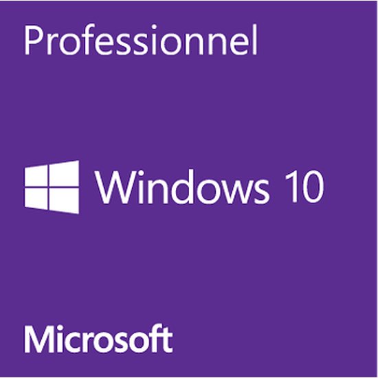 Windows Microsoft Windows 10 PRO 32/64 bits - Version clé USB