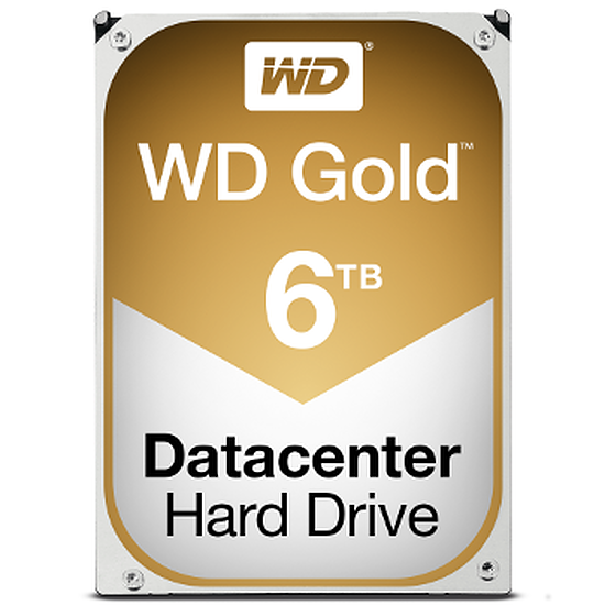 Disque dur interne Western Digital (WD) Gold 6 To