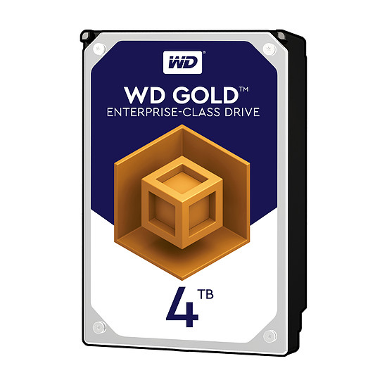 Disque dur interne Western Digital (WD) Gold 4 To