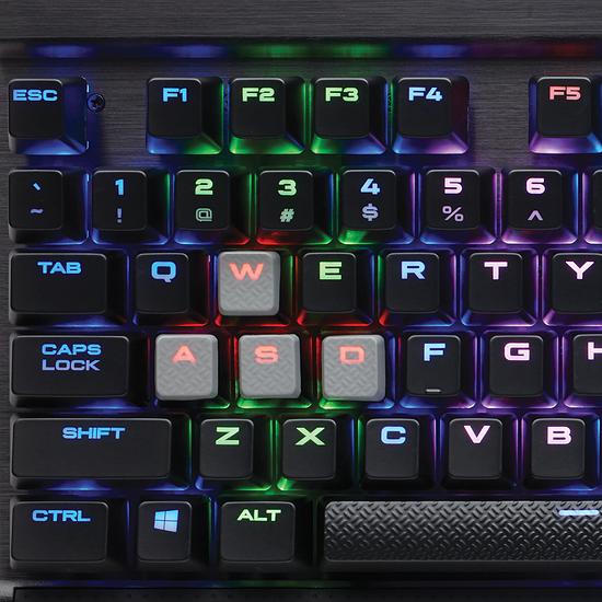 Clavier PC Corsair K65 Lux RGB - Cherry MX Red - Autre vue