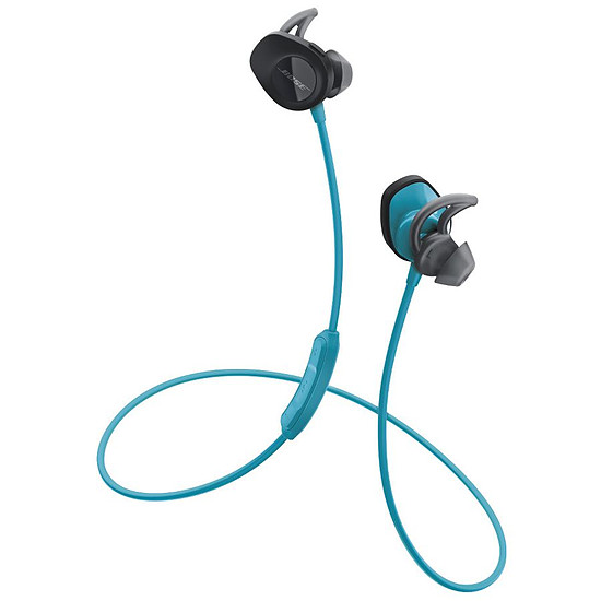 Casque Audio Bose SoundSport Wireless Bleu - Ecouteurs sans fil