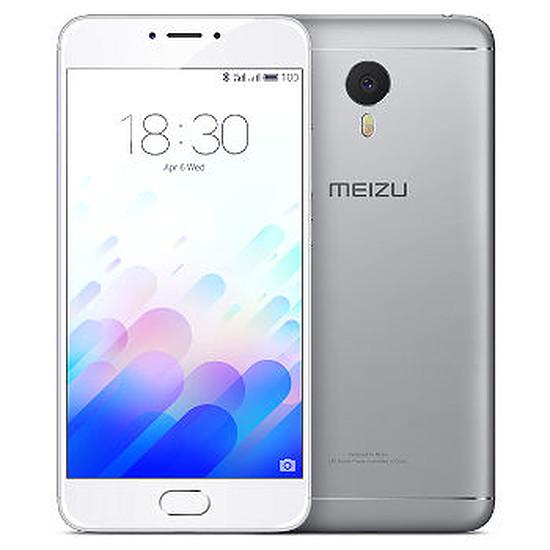Smartphone et téléphone mobile Meizu M3 Note (argent) - 16 Go - 2 Go RAM