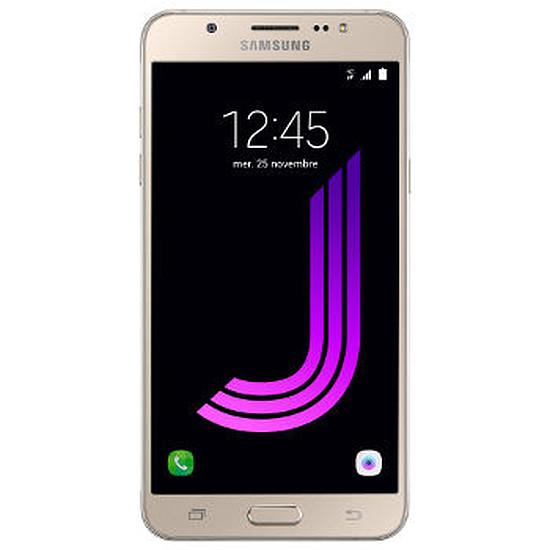 Smartphone et téléphone mobile Samsung Galaxy J7 2016 (or)