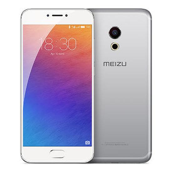 Smartphone et téléphone mobile Meizu Pro 6 - 32 Go (argent)