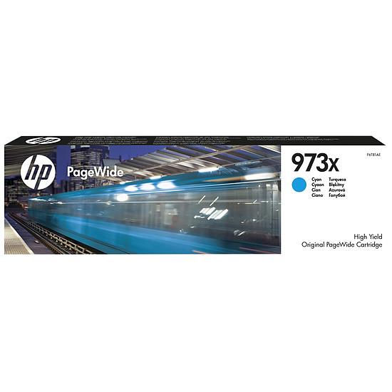 Cartouche imprimante HP n°973X - F6T81AE Cyan XL