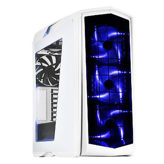 Boîtier PC Silverstone Primera PM01 LED Bleu - Blanc