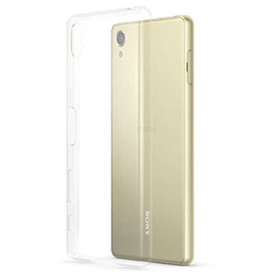 Coque et housse Sony Mobile Style cover clear (transparent)- Xperia X