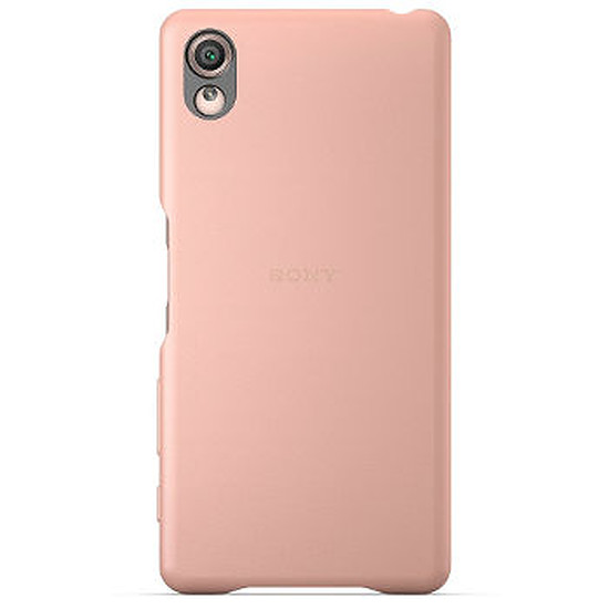 Coque et housse Sony Mobile Style Back cover clear (rose) - Xperia X