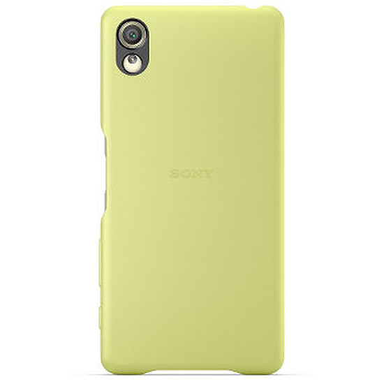 Coque et housse Sony Mobile Style Back cover clear (jaune) - Xperia X