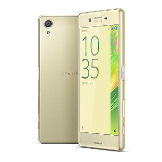 Smartphone et téléphone mobile Sony Mobile Xperia X (jaune doré) - Simple SIM - 32 Go