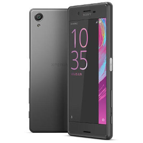 Smartphone et téléphone mobile Sony Mobile Xperia X (noir) - Double SIM - 64 Go