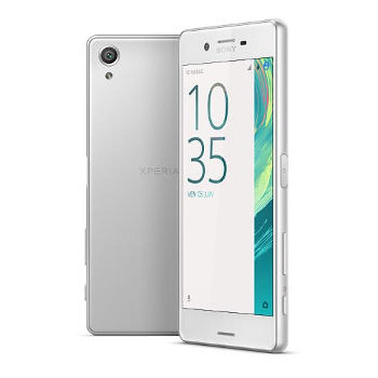 Smartphone et téléphone mobile Sony Mobile Xperia X (blanc) - Double SIM - 64 Go