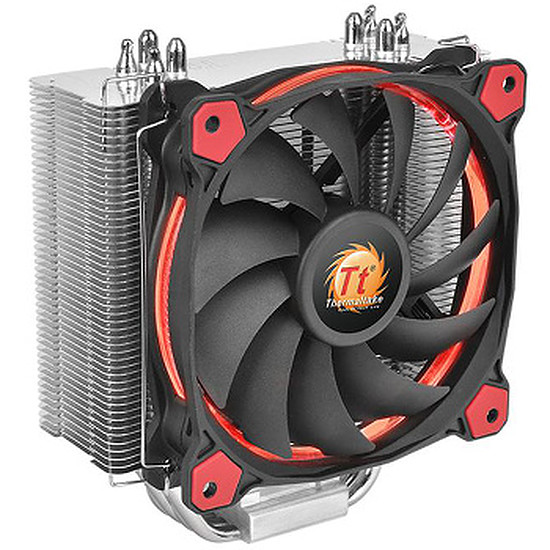 Refroidissement processeur Thermaltake Riing Silent 12 - Rouge