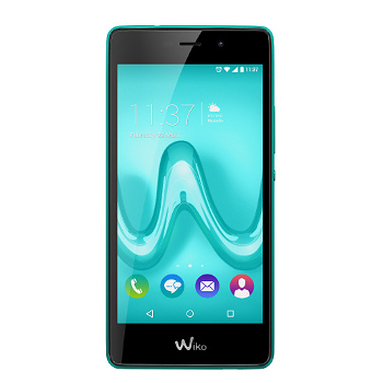 Smartphone et téléphone mobile Wiko Tommy 4G (turquoise)