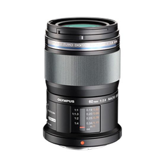 Objectif pour appareil photo Olympus M. Zuiko Digital ED 60 mm f/2.8 macro