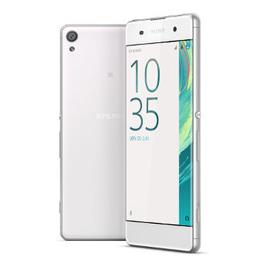 Smartphone et téléphone mobile Sony Xperia XA (blanc) - Double SIM