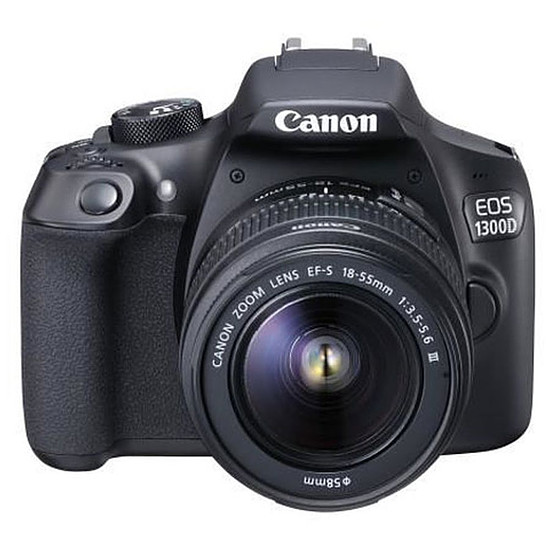 Appareil photo Reflex Canon EOS 1300D + EF-S 18-55 mm IS II