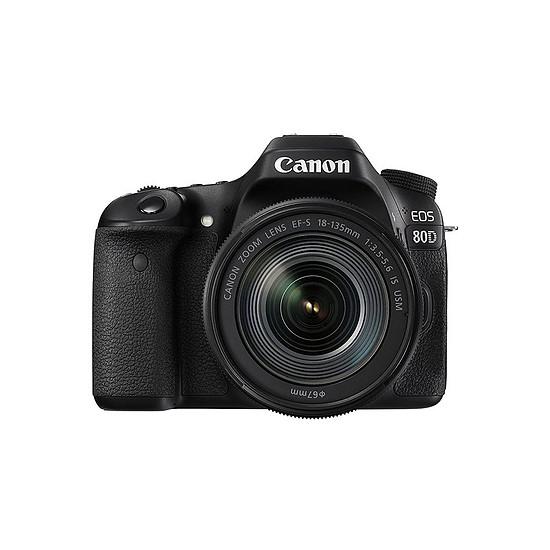 Appareil photo Reflex Canon EOS 80D + 18-135 mm  IS USM