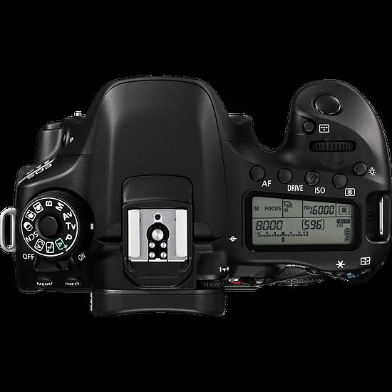 Appareil photo Reflex Canon EOS 80D + 18-135 mm IS USM - Autre vue