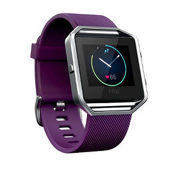 Montre connectée Fitbit Fitbit Blaze (prune - Taille L)