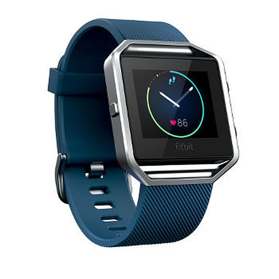 Montre connectée Fitbit Fitbit Blaze (bleu - Taille S)