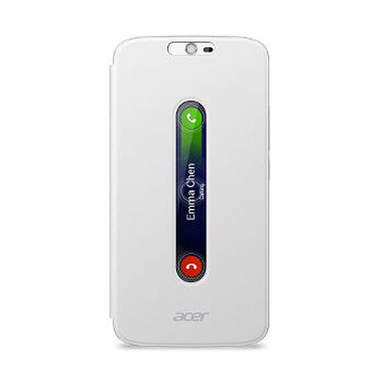 Coque et housse Acer Flip Cover (blanc) - Acer Liquid Zest Plus