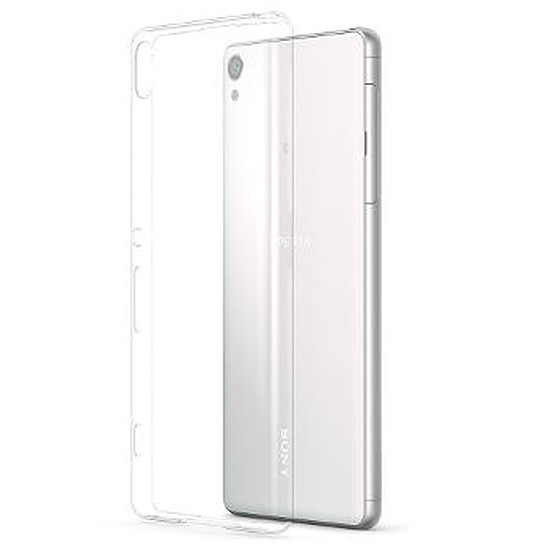 Coque et housse Sony Mobile Style cover clear (transparent)- Xperia XA