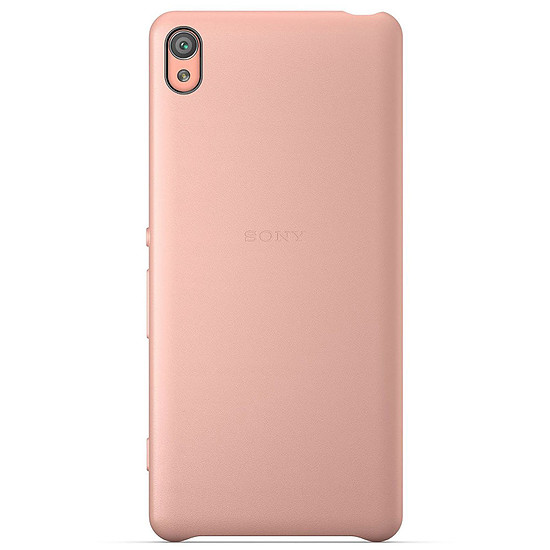 Coque et housse Sony Mobile Style Back cover clear (rose)- Xperia XA