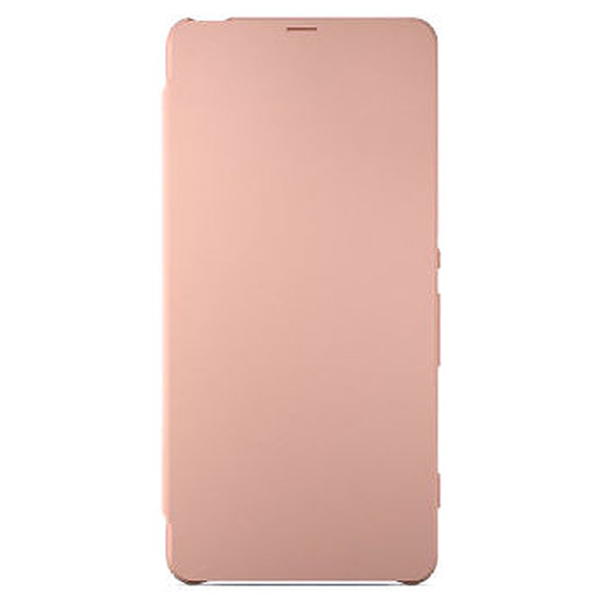 Coque et housse Sony Mobile Style cover flip (rose)- Xperia XA