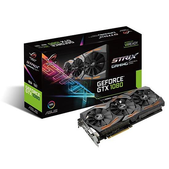 Carte graphique Asus GeForce GTX 1080 STRIX - 8 Go