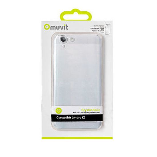 Coque et housse Muvit Coque Crystal case - Lenovo K5 / K5 Plus