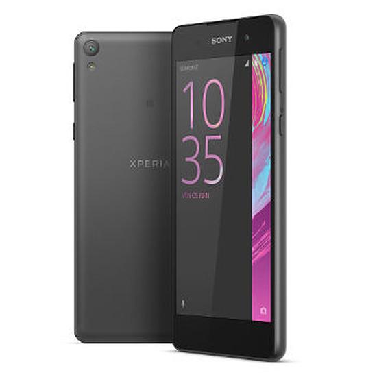 Smartphone et téléphone mobile Sony Xperia E5 (noir)