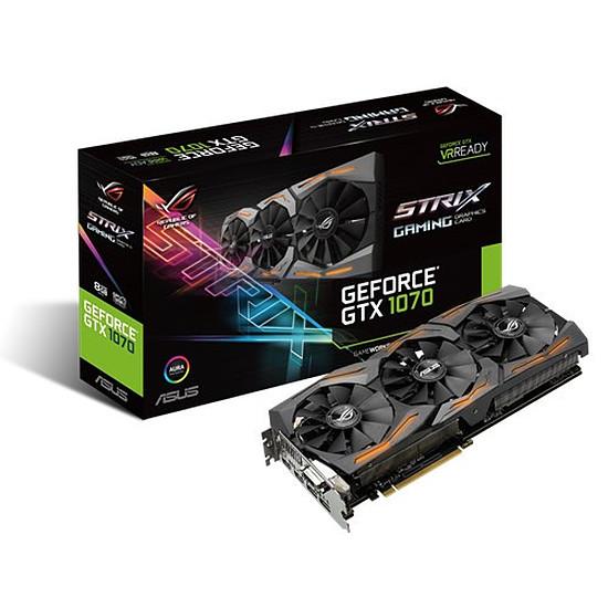Carte graphique Asus GeForce GTX 1070 STRIX - 8 Go