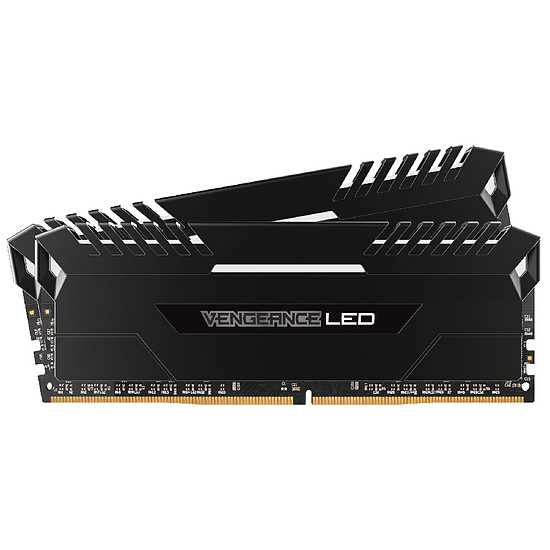 Mémoire Corsair Vengeance LED White DDR4 2 x 8 Go 3000 MHz CAS 15