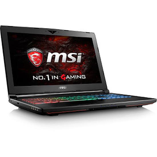 PC portable MSI GT62VR 6RD-032FR - i7 - 16 Go - SSD - GTX 1060 -