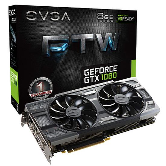 Carte graphique EVGA GeForce GTX 1080 FTW - 8 Go